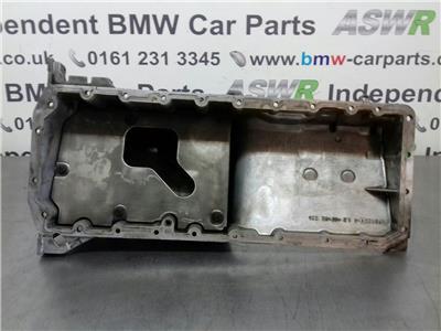 BMW E60 5 SERIES Oil Pan/Sump 11137806219