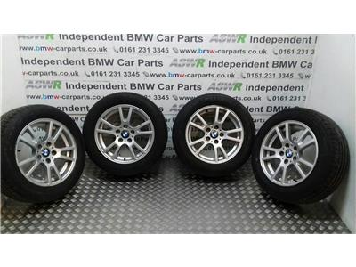 BMW X3 E83 17'' Alloy Wheels Set 36103412060