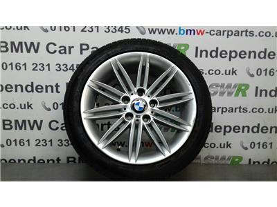 BMW 1 SERIES E87 Alloy Wheel M Double Spoke 207 36118036938
