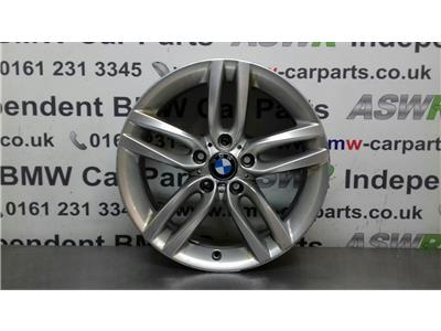 BMW 1 SERIES F20 Alloy Wheel M DOUBLE SPOKE 36117846784