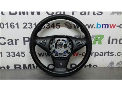 BMW E60 E61 5 SERIES M Sport Steering Wheel 32342283939