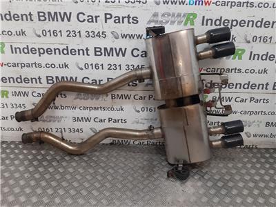 BMW M3 E90 E92 E93 MILLTEK SPORT BACK BOX