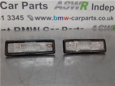 BMW E30 3 SERIES Number Plate Lights 63261372763