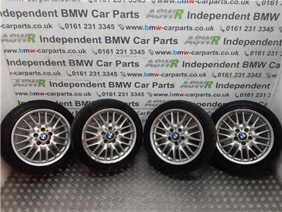 BMW E36 3 SERIES 17 Inch MV1 Style Alloy Wheels Set
