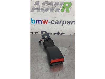 BMW F30 3 SERIES N/S/R Passenger Side Rear Seat Belt Buckle/Sock 72117266352
