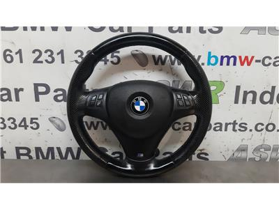 BMW E91 3 SERIES M Sport Steering Wheel & Airbag 32306884672/32307839114