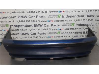 2001-2005 BMW E46 3 SERIES 4 DOOR SALOON Rear Bumper 51127030591