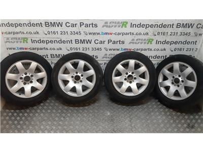 "BMW 3 SERIES E46 16"" Alloy Wheels Set 36111094498"