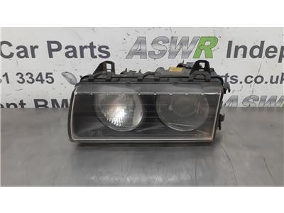 BMW E36 3 SERIES N/S Left Passenger Side Head Light 63128363083