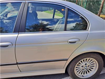 BMW E39 5 SERIES Saloon N/S Passenger Side Rear Door Titan Silver 41528266721