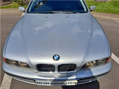 BMW E39 5 SERIES Bonnet Titan Silver 354 41618238592