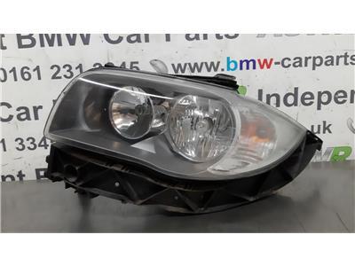 BMW E87 1 SERIES N/S Left Passenger Side Head Light 63117193389