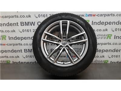 "BMW X3 G01 X4 G02 19"" M SPORT Single Alloy Wheel 36108746987"