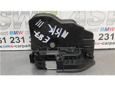 BMW E87 1 SERIES N/S/R Passenger Side Rear Door Catch Mechanism 51227202147