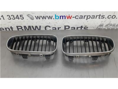 BMW E87 1 SERIES Front Kidney Grilles 51137166439/51137166440