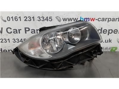 BMW E87 1 SERIES O/S Right Drivers Side Head Light 63117193390