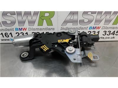 BMW 3 SERIES F31 Rear Wiper Motor 67637311415