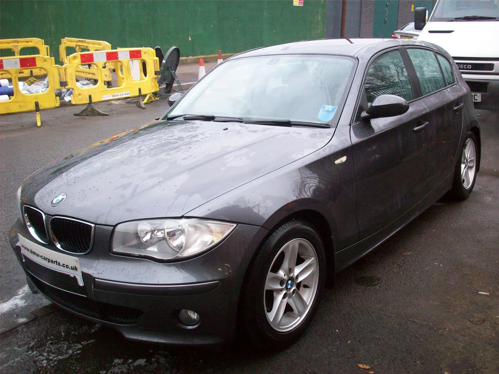 2005 bmw 1 series 120d sport 5 door hatchback diesel. Black Bedroom Furniture Sets. Home Design Ideas