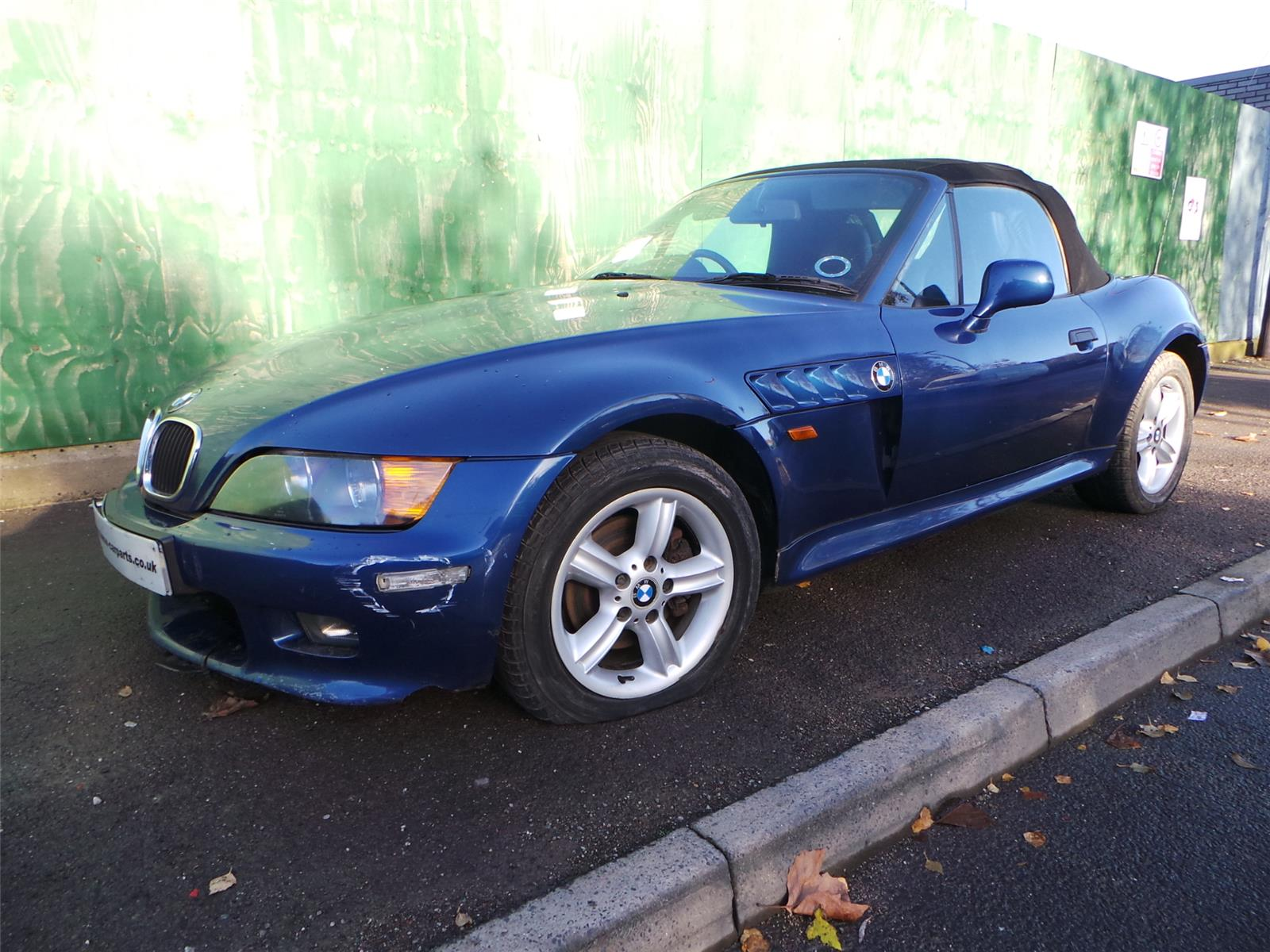 1999 Bmw Z Series Z3 Roadster Convertible Petrol Manual Breaking For Used And Spare Parts From Aswr In Openshaw Manchester