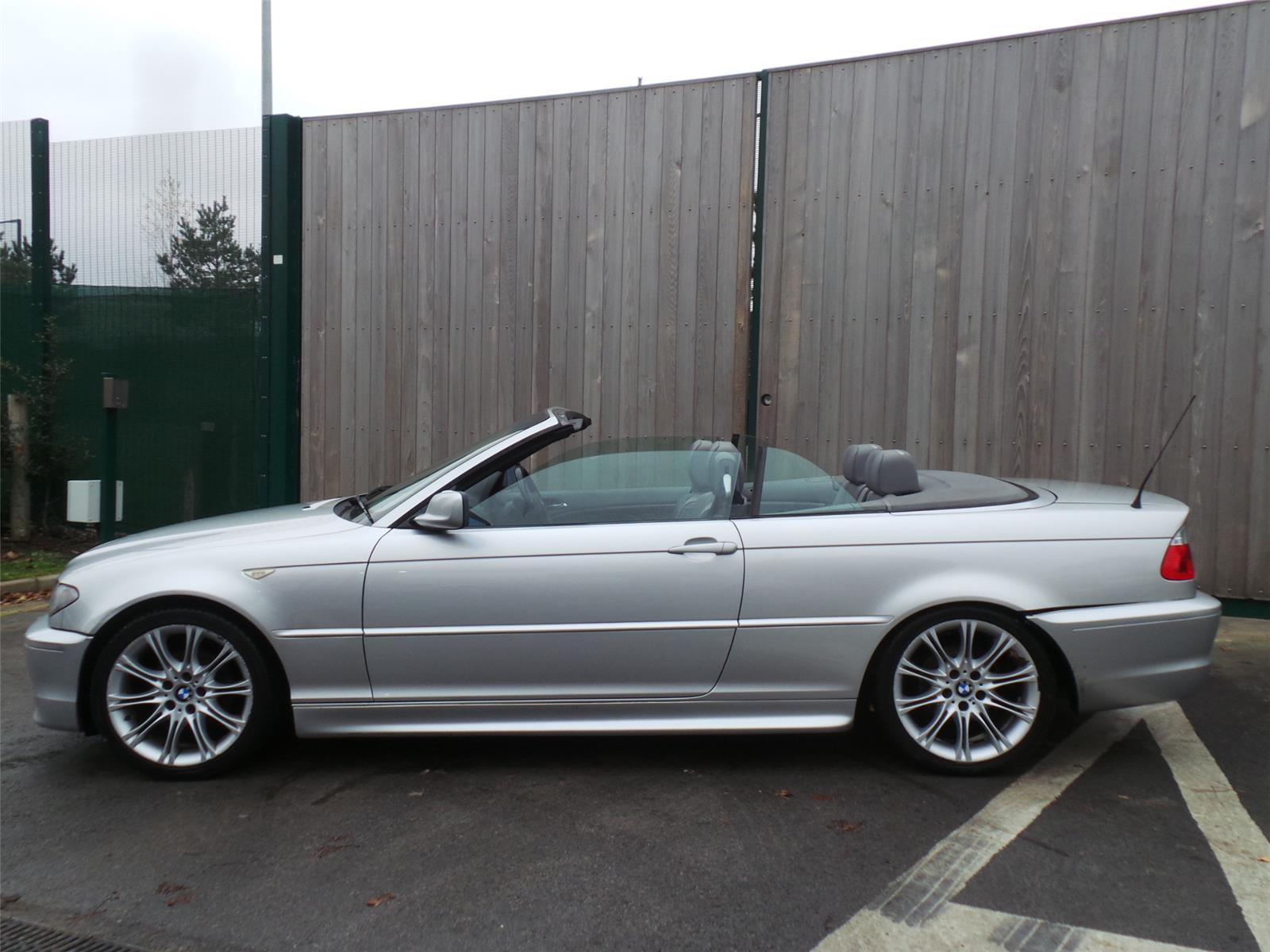 2004 BMW 3 SERIES 318CI SPORT Convertible (PETROL / MANUAL) breaking ...
