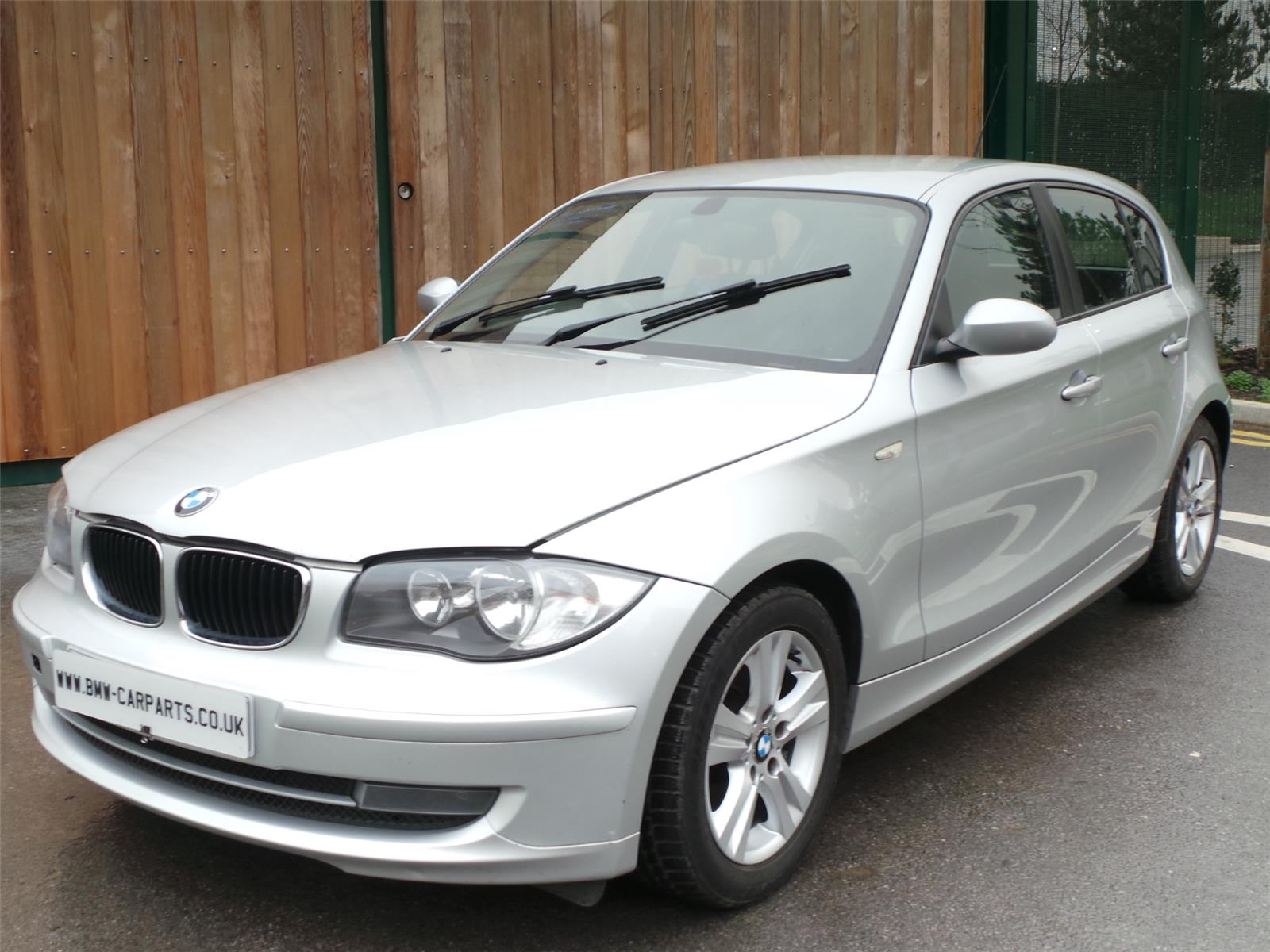 2008 bmw 1 series 118d se 5 door hatchback diesel. Black Bedroom Furniture Sets. Home Design Ideas