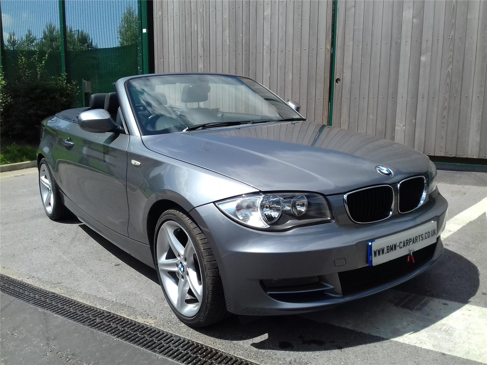 2009 BMW 1 SERIES 118D SPORT Convertible DIESEL MANUAL Breaking