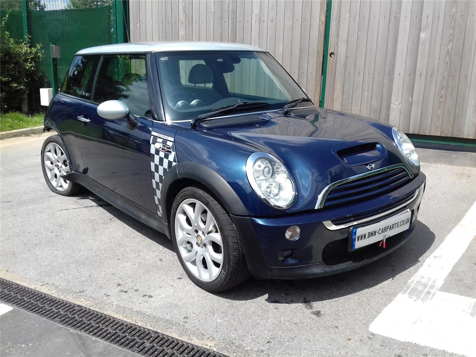 2005 mini r50 cooper s checkmate 3 door hatchback petrol manual breaking for used and spare. Black Bedroom Furniture Sets. Home Design Ideas