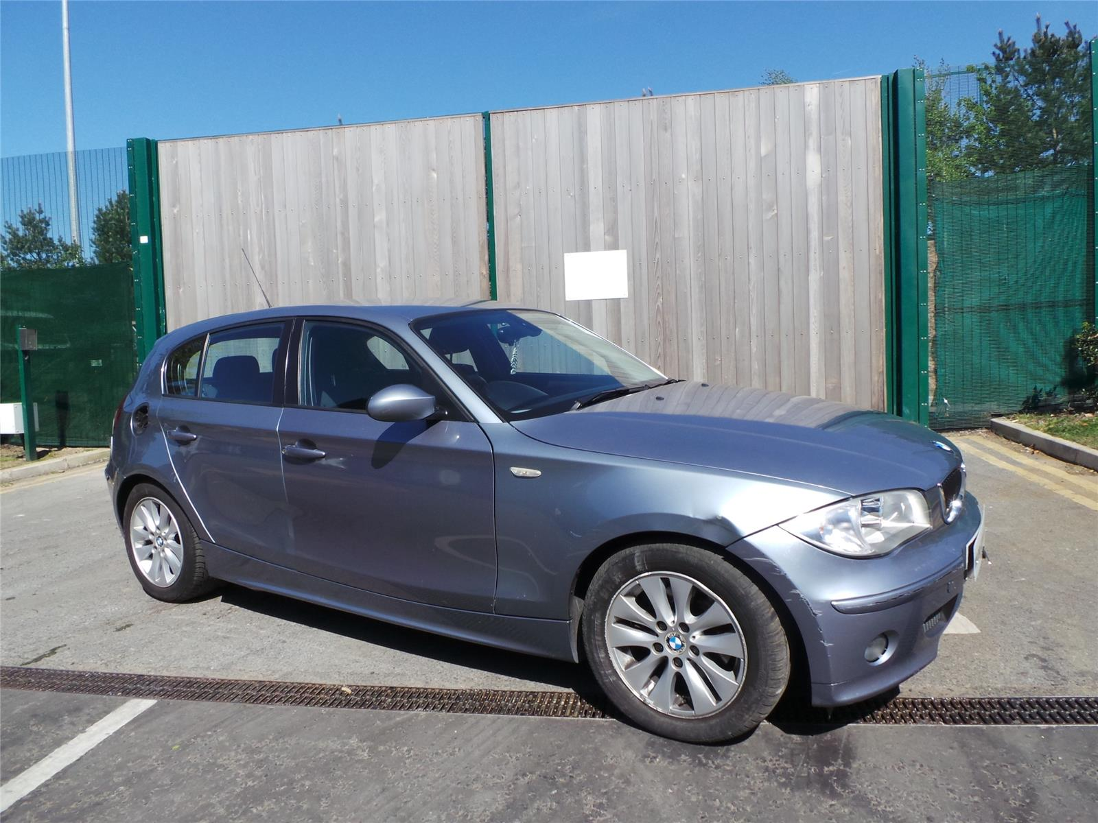 2007 bmw 1 series 120d se 5 door hatchback diesel. Black Bedroom Furniture Sets. Home Design Ideas