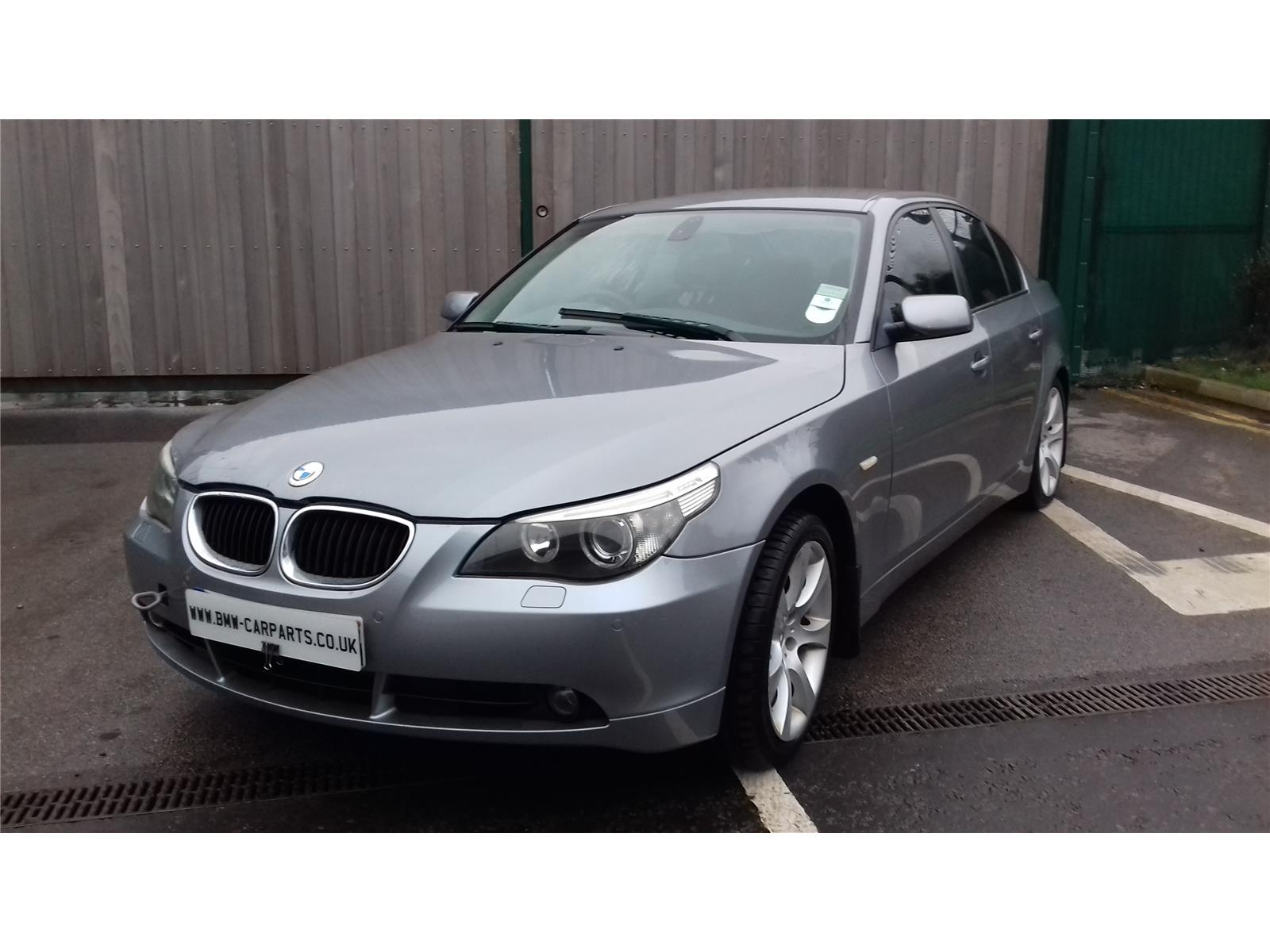 2004 bmw 5 series 530i se 4 door saloon petrol automatic breaking for used and spare parts. Black Bedroom Furniture Sets. Home Design Ideas