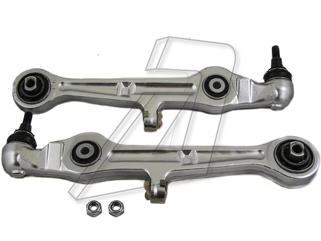 Audi A6 Front Left and Right Lower Suspension Control Arms with Ball Joints