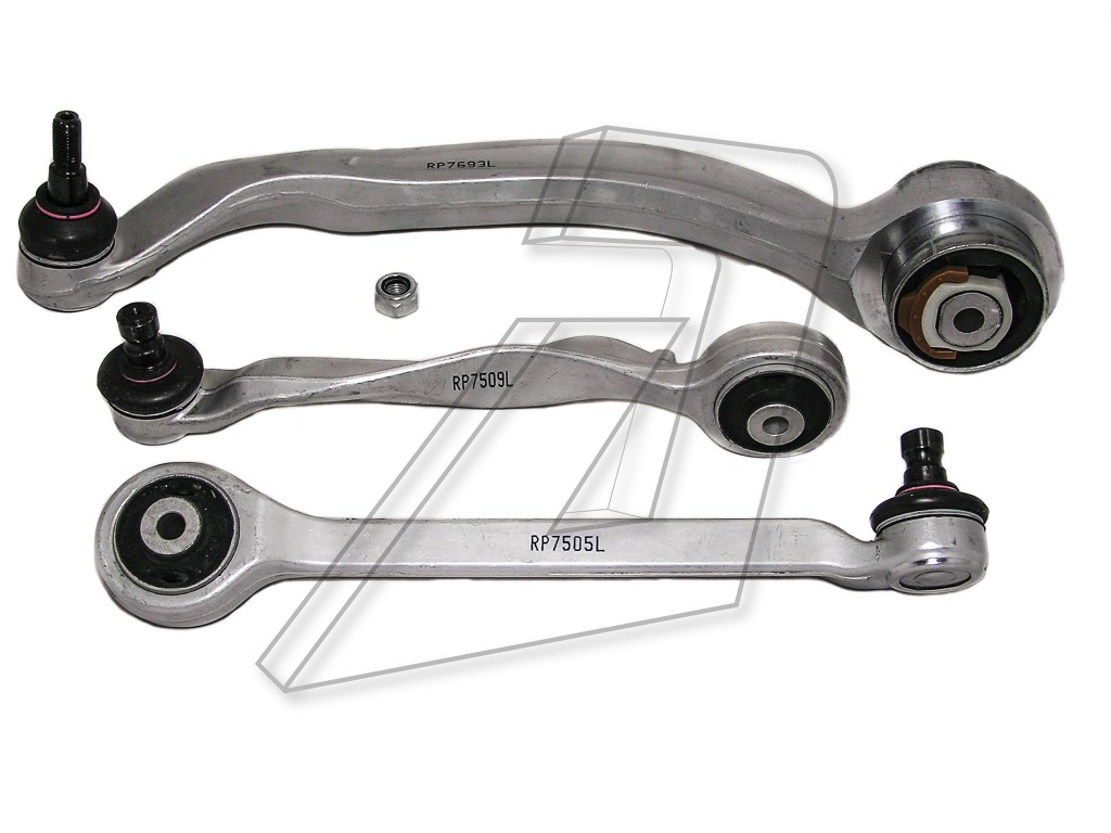 Audi A4 Front Left Control Arm Kit 8D0407505K, 4D0407509K, 4D0407693K