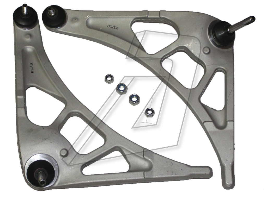 BMW M3 CLS E46 Front Left and Right Track Control Arms with Ball Joints - Pair