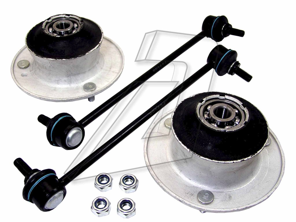 BMW 3 Series Front Left or Right Suspension Top Mountings Stabiliser Links Kit RPBMKIT33