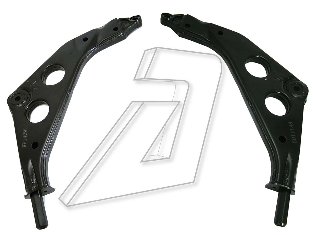BMW Mini Cooper One  Front Left and Right Suspension Control Arms Kit 31126761409, 31126761410