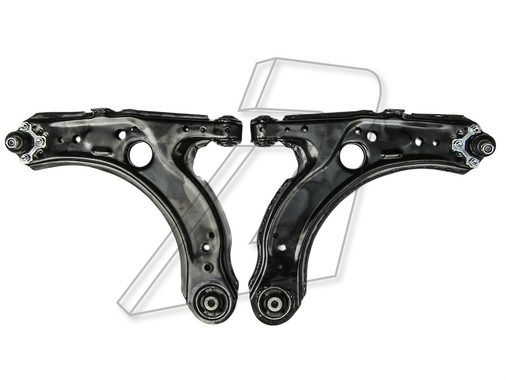 Audi A3 Front Lower Left and Right wishbones with Ball Joints - PAIR