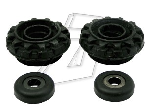 Volkswagen Polo Front Left and Right Top Strut Mounts with Bearings RP2331AKP