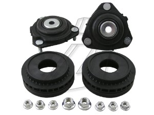 Ford Fusion Front Left and Right Top Strut Mounts with Bearings - Pair
