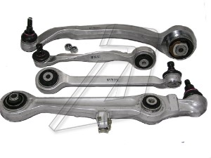 Skoda Superb Front Left Wishbone Control Arm Kit 8D0498998