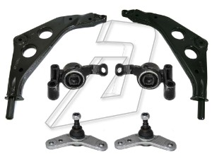Mini One Front Wishbone Bush, Ball Joint and Control Arms Kit