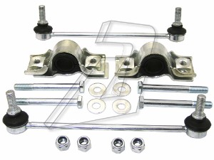 Peugeot Expert Front Left and Right Anti Roll Bar Links and Bushes Kit 508756