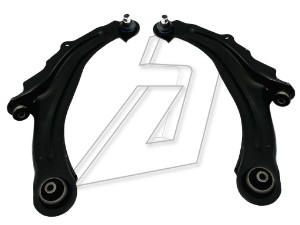 Renault Megane II Front Left and Right Wishbones Kit 8200298455