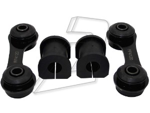 Vauxhall Vectra C Rear Left and Right Anti Roll Bar Bushes, Links Kit 24457385, 13104120