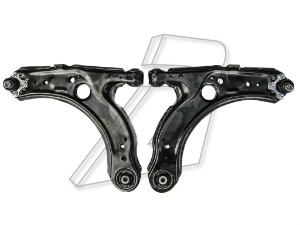 Skoda Octavia Front Lower Left and Right wishbones with Ball Joints - PAIR