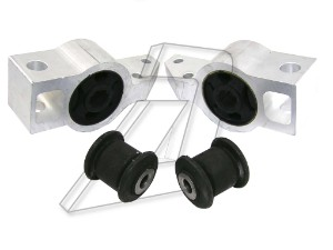 Skoda Octavia Front Left and Right Wishbone Bush Kit With Bracket