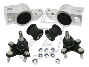 Volkswagen Golf Mk6 Front Left and Right Ball Joint and Bush Kit