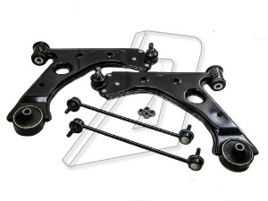 Vauxhall Corsa D Front Left and Right Control Arms and Links Kit