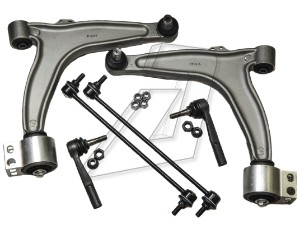 Vauxhall Vectra C Front Left and Right Control Arms, Tie Rod Ends and Links Kit