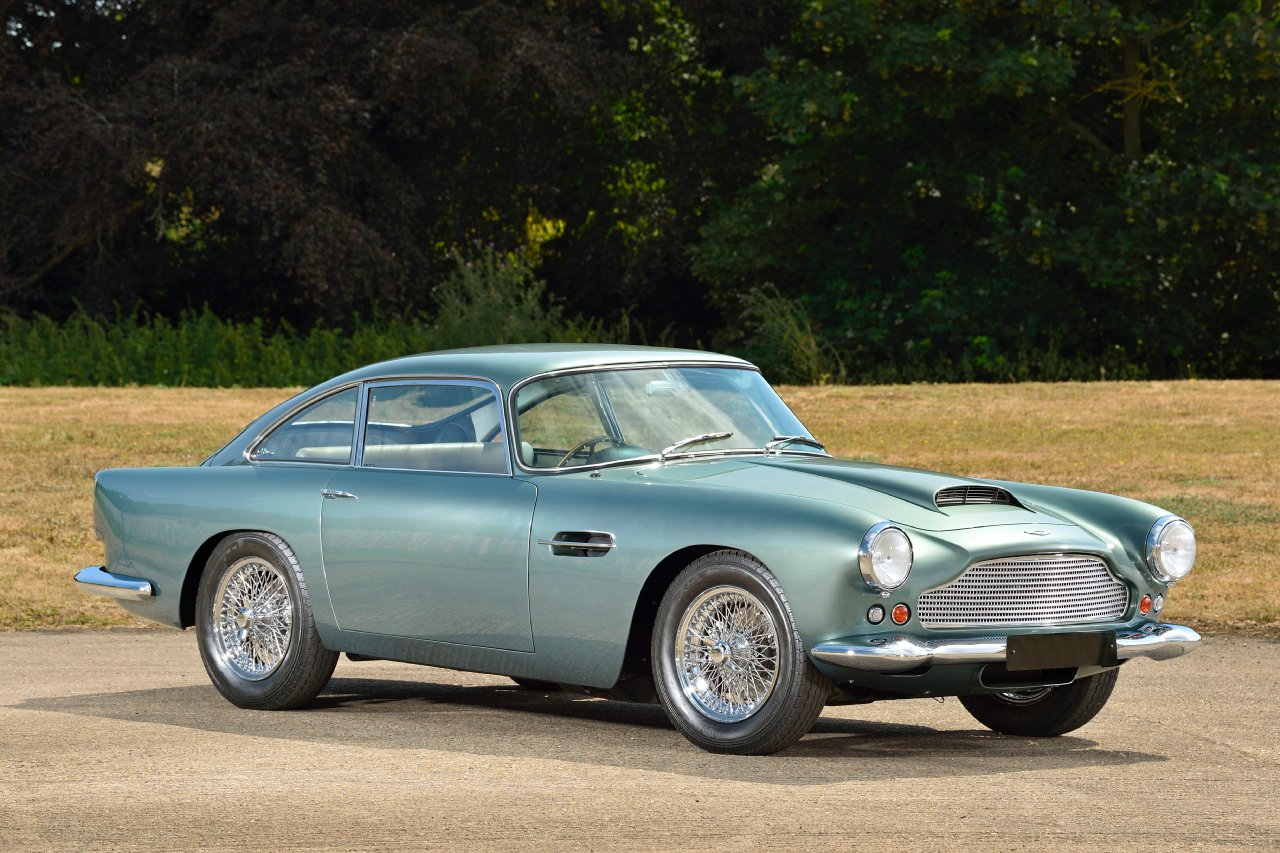 Used Aston Martin Db4 Series Iii Finished In Green Steve Hurn Cars