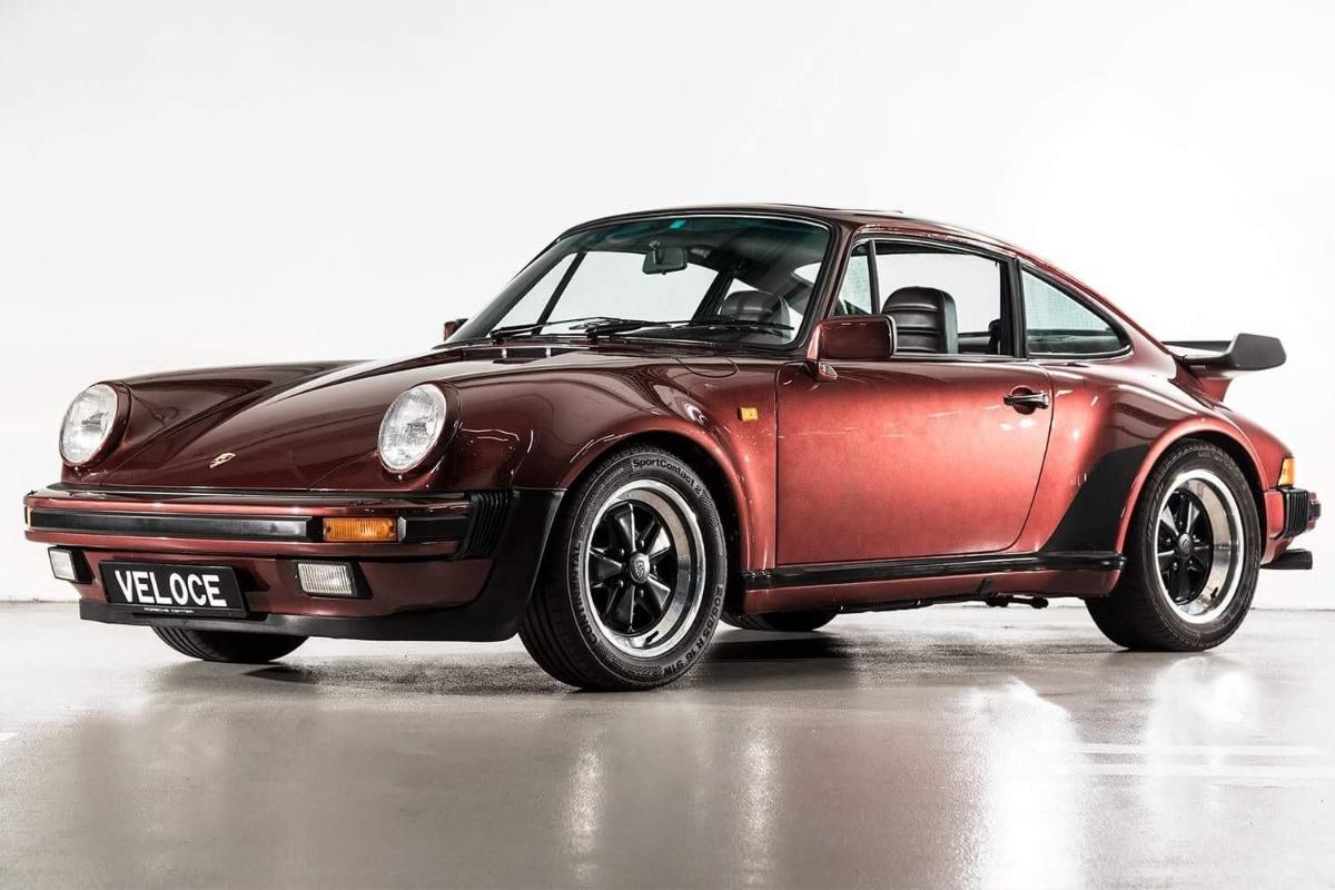 This unusual 1984 Porsche 911 Turbo is pure '80s cool