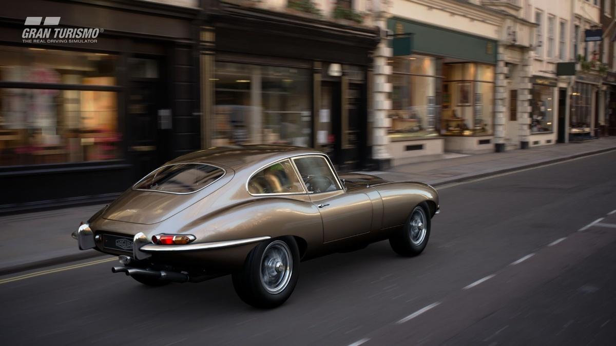 Jaguar E-type S1 and Subaru Impreza 22B added to GT Sport